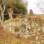 須賀神社付近石垣