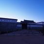 夜明けの本丸門