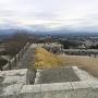 天守台からの東櫓台