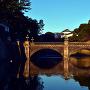 元旦の正門石橋