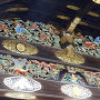 唐門の装飾(内側)