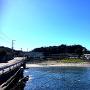 長井城全景