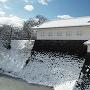 二ノ丸東大手門の雪景色。(120度パノラマ)