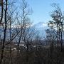 本丸跡からの富士山