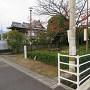 標柱の建っている秋吉公園