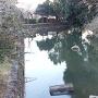 鹿島城 水堀