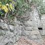 社殿横の石垣②