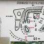 浜田城跡の地図
