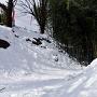 雪の本丸堀