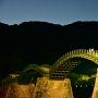 錦帯橋との夜