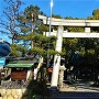 城址風景(白山神社)