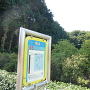 下鶴間城遠景と城山バス停