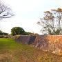 遊撃丸石垣と石段