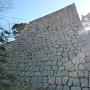 丸亀城 長崎櫓跡越しの天守