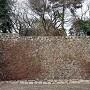 二段石垣と空堀