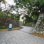 桐木坂門跡石垣
