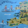大三島の案内図