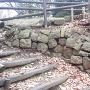 臼井城 石垣