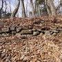 飛騨の丸の石垣