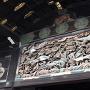二の丸御殿、車寄入口にある鸞鳥の彫刻