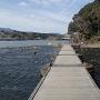 三隈川と日隈山