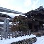 雪化粧の本丸御殿