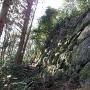 石垣(詰ノ段)