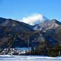 本丸跡と富士 Part 3 冬