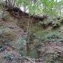 古井戸と曲輪からのつるべ