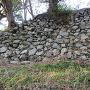 二の丸拡張石垣跡