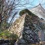 本丸石垣と小銃櫓 冬景色