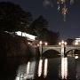 二重橋奥の伏見櫓