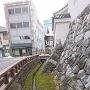 艮寅櫓前の水路