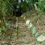 登城口石段