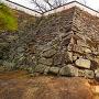 本段南面の石垣