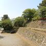 なかなか壮大な石垣