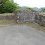 三の丸(駐車場)の石垣