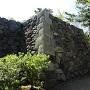 敵見櫓石垣