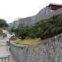北側の城壁