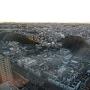 横浜プリンスホテルから見た篠原城