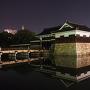 平櫓と表御門◆広島夜城