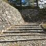 城代屋敷跡への石段