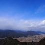 岩尾城を望む