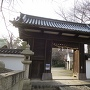 膳所神社の薬医門