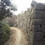 相方城本丸の石垣