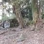 角牟礼城 3の丸 石垣①