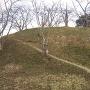 神辺城 二番櫓跡から乾櫓跡