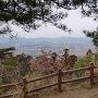 天狗岩からの風景