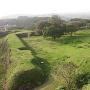 名護屋城 天守台から見た遊撃丸