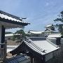 河北門越しの菱櫓